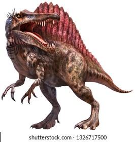 Spinosaurus  3D illustration