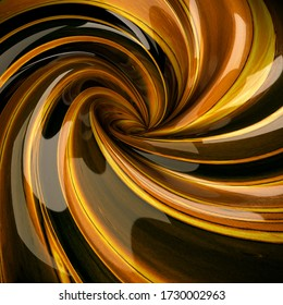 Spiral texture and colorful abstract 3d rendering.
