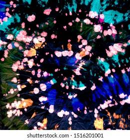 Spiral Tie-Dye. Multicolor Illusion Spiral. Vivid Tie Dye Elements. Hippy Patterns. Colorful Rasta. Psychedelic Swirls. Cosmos Rasta. 70s Hippies.