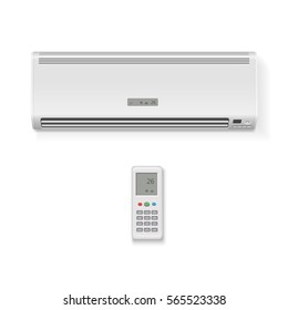 Split system air conditioner, remote controller isolated