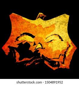 Spooky Halloween Background Sinister Seamless Wallpaper