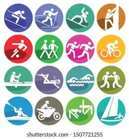 Sports Icons - Illustration, Icon Set