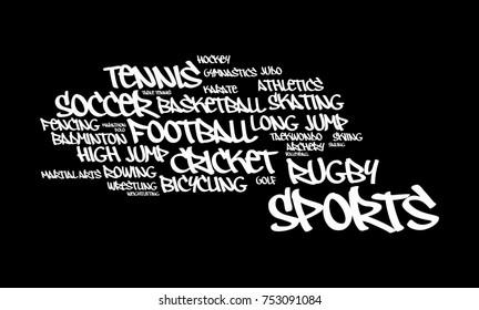 Sports Word Cloud