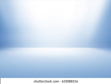 Spot light Blue Studio Background