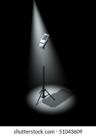 Spotlight on mobile phone industry