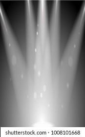 Spotlights illustration image light