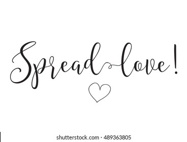 1000+ Spread Love Typography Stock Images, Photos & Vectors ...
