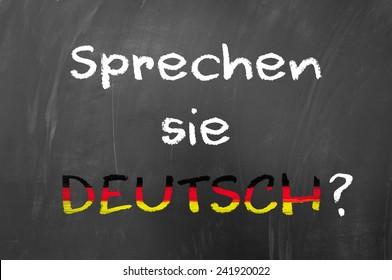 Sprechen sie deutsch question on blackboard