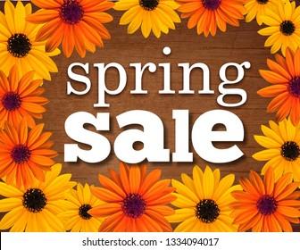 Spring Sale Shop Sign / Poster