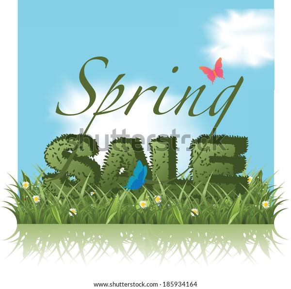 Spring sale topiary design