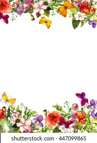 Butterfly Border Images Stock Photos Amp Vectors Shutterstock