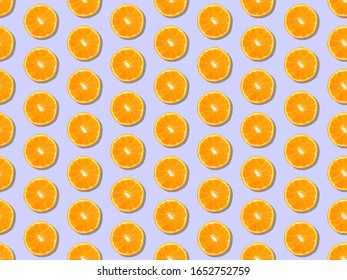 Spring theme in vibrant and colorful colors. fruit and freshness pattern. Seamless pattern. Background image.