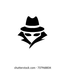 spy logo images stock photos vectors shutterstock https www shutterstock com image illustration spy agent icon on white background 737968834
