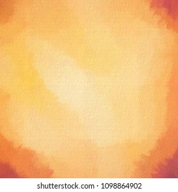 Square texture in warm colours of orange and gold with canvas effect.