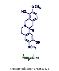 (S)-scoulerine or Aerualine is a berberine alkaloid isolated from Corydalis saxicola. It has a role as an EC 5.99.1.2 (DNA topoisomerase) inhibitor and a plant metabolite.