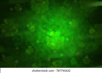 St. patrick day clover  background