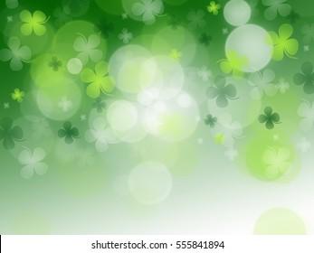 St. Patrick's Day celebration greeting card