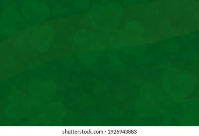 St Patricks day saint holiday wavy background glover design overlay emerald shamrock green