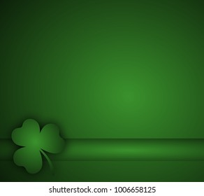 St Patrick's Day sign background poster