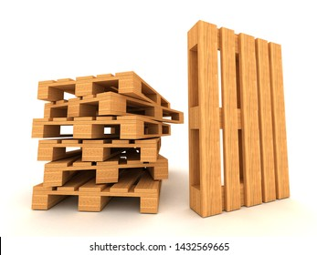 Stacked Pallets Images, Stock Photos & Vectors | Shutterstock