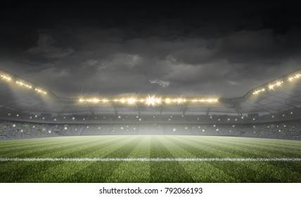the stadium, 3d rendering