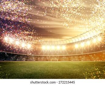 Stadium confetti