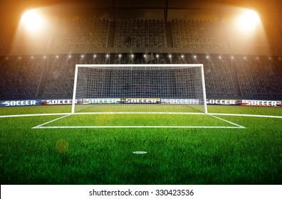 Stadium Soccer Goal or Football Goal
