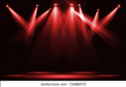 a71edc7819f0 Stage Lighting Red Images, Stock Photos & Vectors | Shutterstock