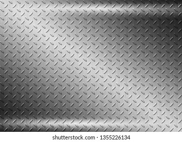 Stainless metal steel plate background texture