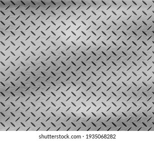 Stainless texture brushed plate abstract or metal background