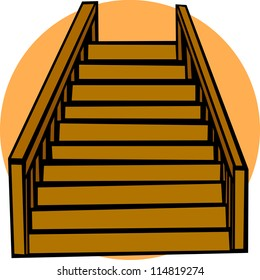 stairs clipart images stock photos vectors shutterstock https www shutterstock com image illustration stairs 114819274