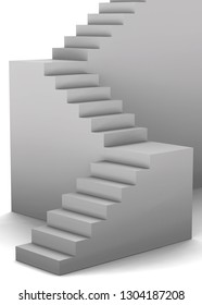 Stairs - 3D