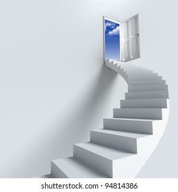 Stairway to heaven as success or achievement