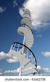 Stairway to skyhigh success