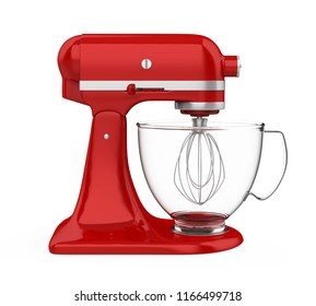 Stand Mixer Isolated. 3D rendering