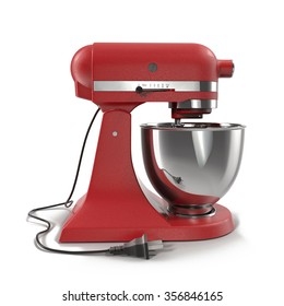 Stand Mixer on White Background