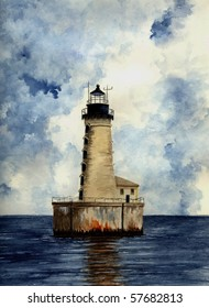 Stannard Rock Lighthouse