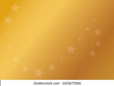 star background gold layer design