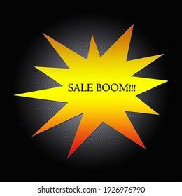 Star discount. Explosive discount. Boom.