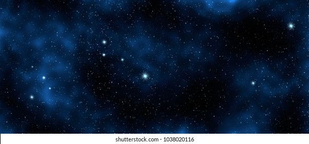 Star and galaxy, space background