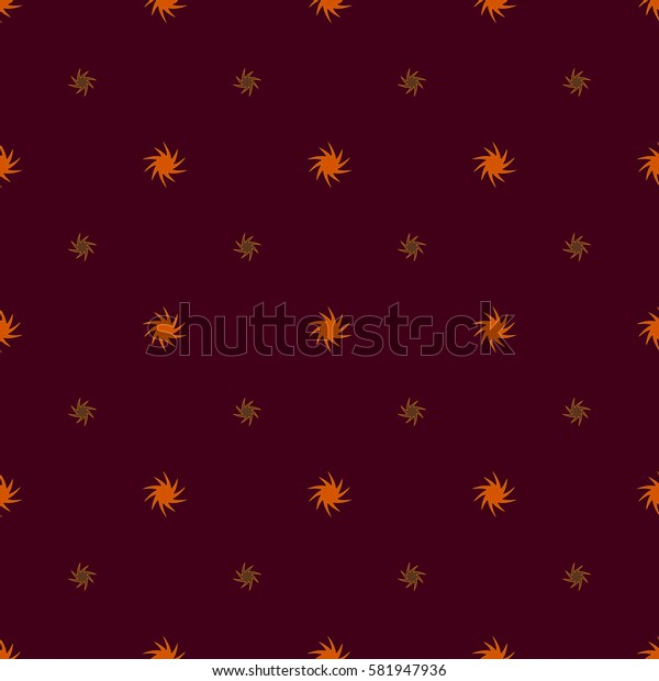 Star seamless pattern. Fashion graphic background design. Modern geometric stylish abstract texture. Colorful template for prints, textiles, wrapping, wallpaper, website etc. Stock illustration