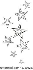 Star studs design