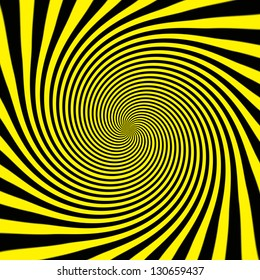 Starburst background, sunbeams going in all directions, yellow and black