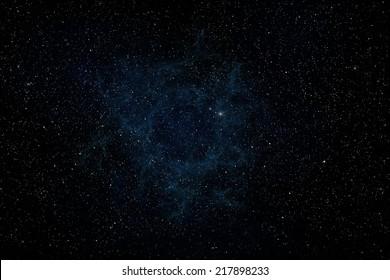 Starry sky. Galaxy