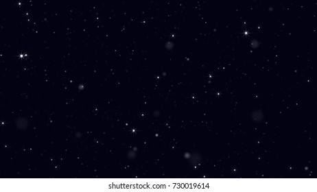 Stars Background with Lights
