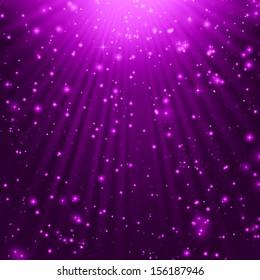 stars background  purple