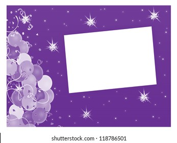 Stars and Balloons - Text Box