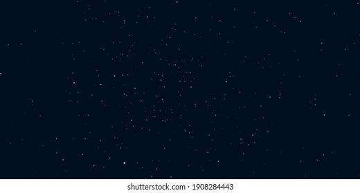 Stars in night sky.Dark space background with stars.3D illustration,3D rendering.