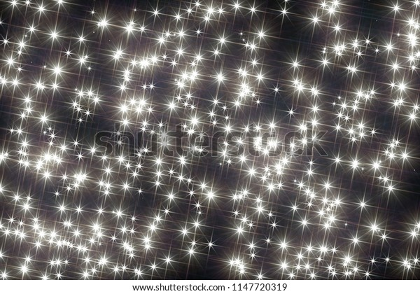 Stars. Starfield. Beautiful starry background.