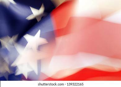 Stars and stripes American flag